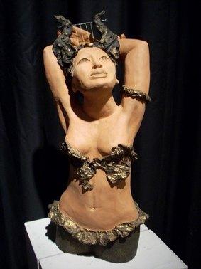 Sculpture de Marèze de Marcoles, Cantal