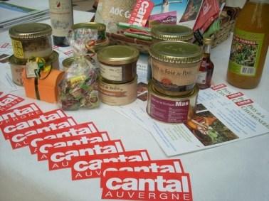 Produits du terroir, Cantal