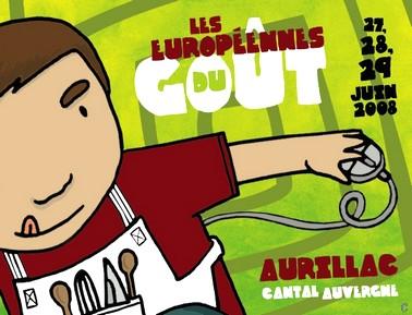 Européennes du Goût 2008 à Aurillac