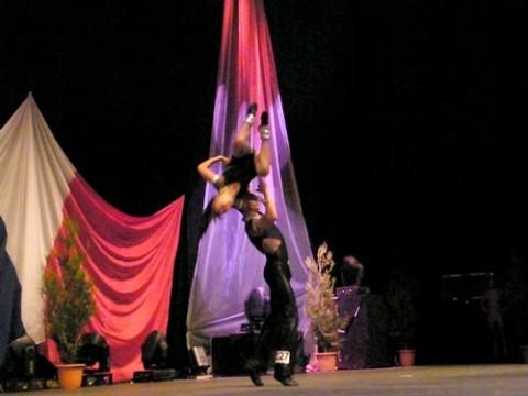 Rock acrobatique au Prisme à Aurillac