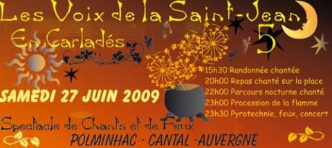 Voix de la Saint jean 2009