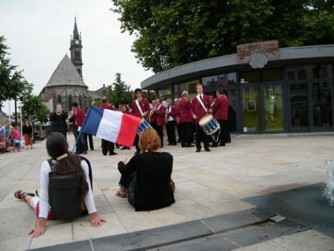Harmonie Municipale place du Square à Aurillac