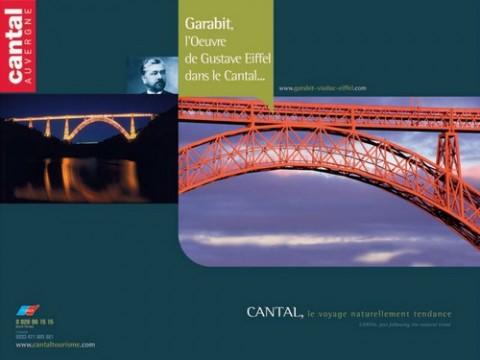 Poster du viaduc de Garabit, Cantal
