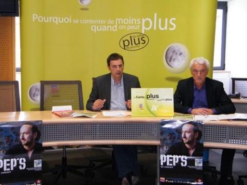 Alain Calmette et Patrick Carpentier présentent la Carte A+