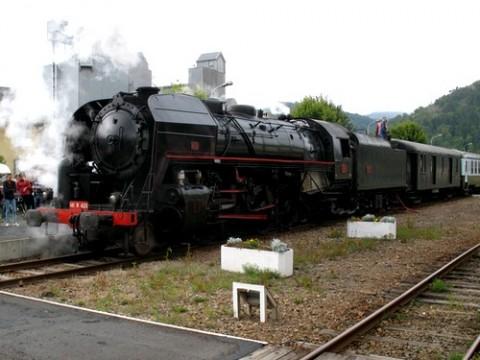 "Locomotive à vapeur ""Mikado"" 141 r 420"