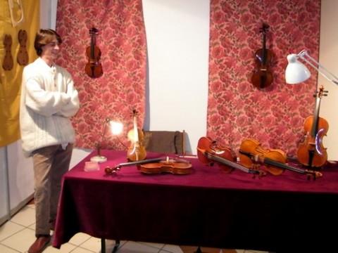 Luthier dans le Cantal, Mathieu Herrero