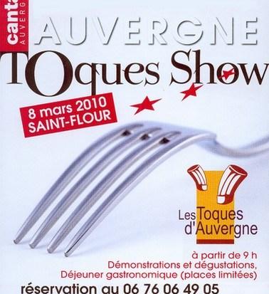 Les Toques d'Auvergne à St Flour le 8 mars 2010