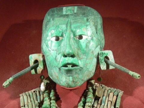 Palenque Masque des Pakal