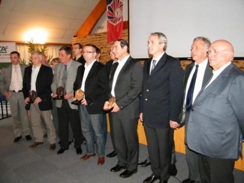 Lauréats et partenaires des trophées de l'entreprise 2010