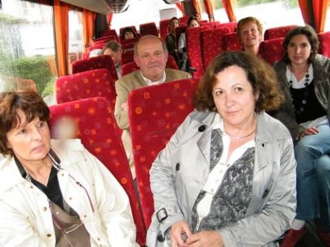 Eductour 2010, Départ pour la maison de site de Mandailles