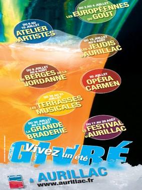 Animations de l'Eté givré 2010 à Aurillac, Cantal