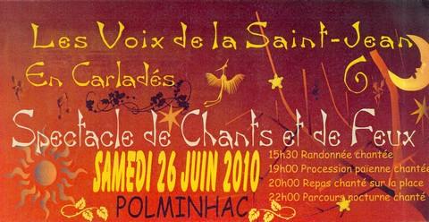 Voix de la Saint-Jean à Polminhac 2010