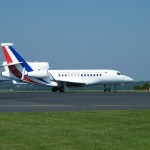 Falcon, avion du Président de la République Française