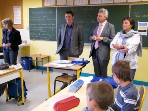 Rentrée scolaire à Aurillac