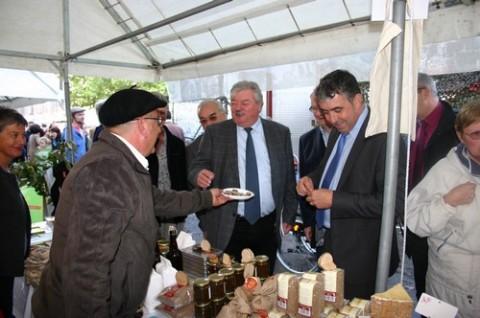 Elus bruxellois et cantaliens à la découverte des producteurs