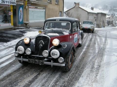 Raid des neiges dans le Cantal, Auvergne