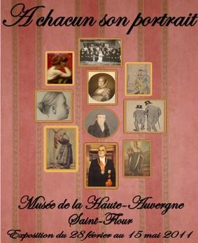A chacun son portrait, expo à St Flour