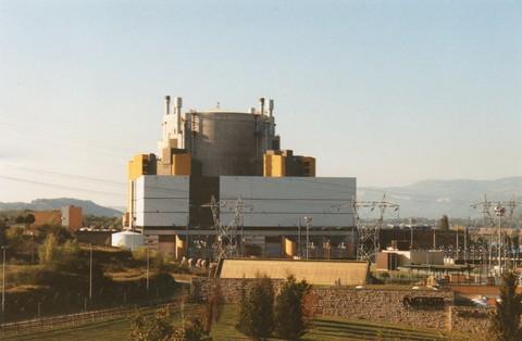 Superphenix, réacteur nucléaire de l'ex-centrale nucléaire de Creys-Malville