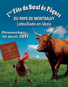 Fête du boeuf gras à Lafeuillade-en-Vézie, Cantal