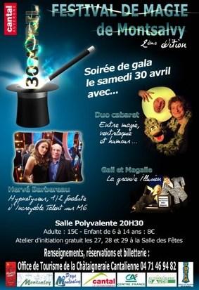 Festival de magie à Montsalvy dans le Cantal