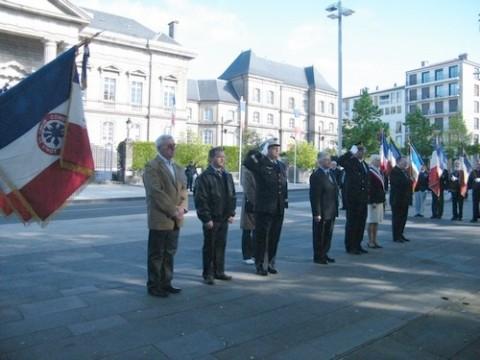 Journée de la déportation à Aurillac 2011