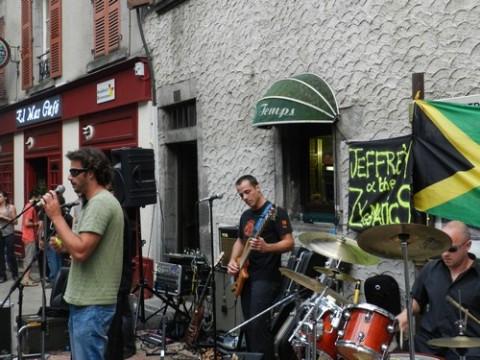 Concert aux Européennes du goût 2011, Jeffrey  Zygomatics