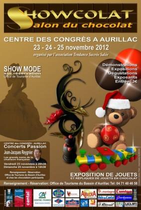 Salon du chocolat à Aurillac Cantal, Showcolat 2012