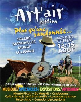 Rondonnée festival Art Air