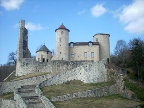 Château de Laroquebrou, fête médiévale