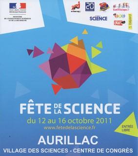 Fête de la science 2011 à Aurillac