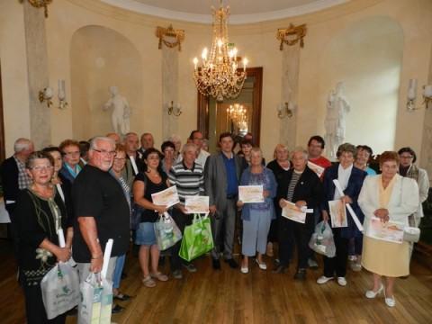 Lauréats du Concours des maisons fleuries 2011 à Aurillac