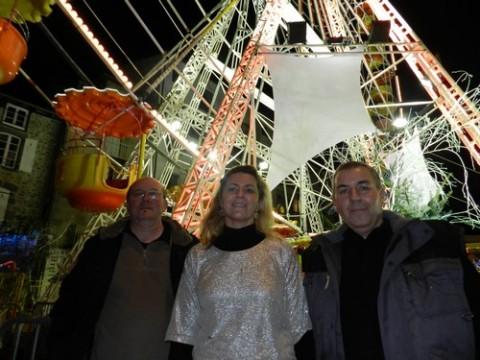 Didier gadion service animation, Patrick Bonneau et Carol de la SARL Banzaï