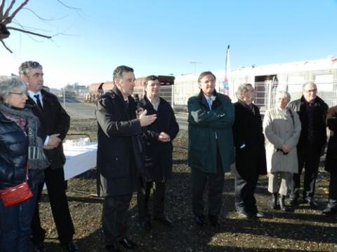 Inauguration de la nouvelle halte de nuit à Aurillac