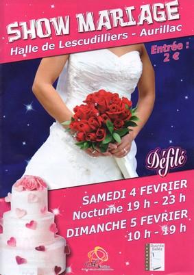 Show et salon du mariage à Aurillac