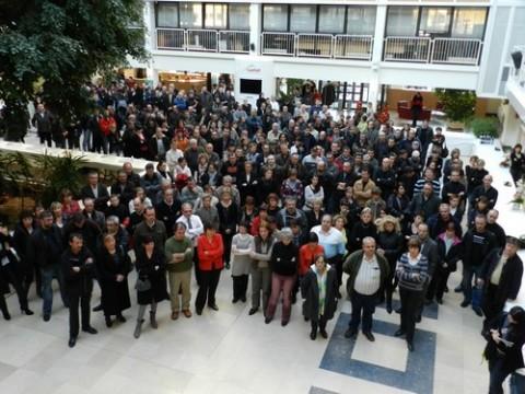 Voeux 2012 au personnel du conseil général du Cantal