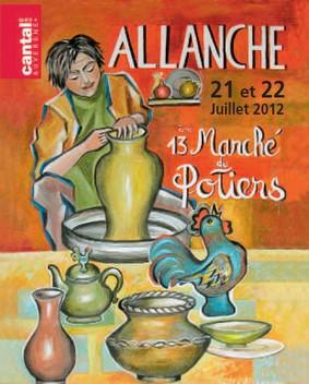 Marché de potiers Allanche 2012