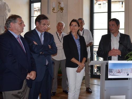 Jacques Mézard, Marc-René Bayle, Aurelie Fillipetti, Alain Calmette