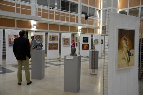Exposition de peintures et de sculptures à Aurillac