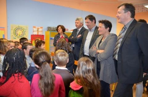 Directrice d'école, Directeur et inspecteur de l'académie, Alain Calmette et Claudine Fley