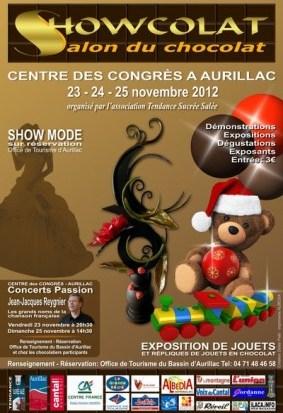 Salon du chocolat d'Aurillac au Centre des Congrès