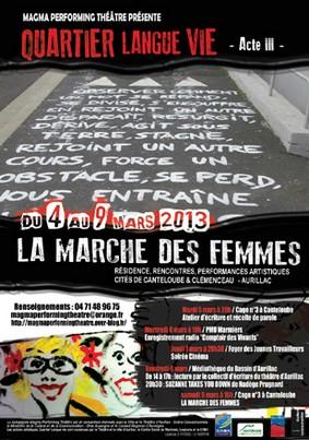 La marche des femmes à Aurillac