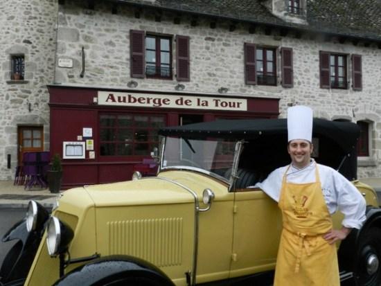 Gastronomie et voiture anciennes, le chef Renaud Darmin