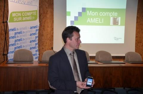 Bruno Blanc Directeur adjoint de la CPAM Cantal