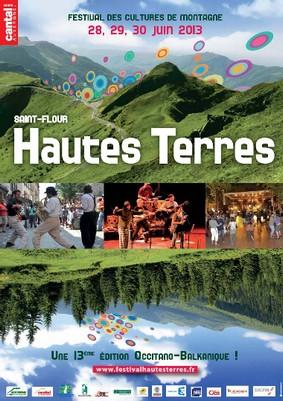 Festival des Hautes Terres Saint Flour 2013