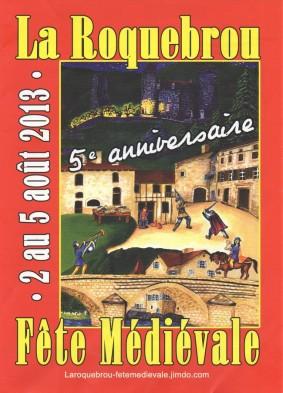 Fête médiévale de La Roquebrou 2013