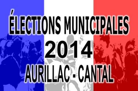 Listes des élections municipales à Aurillac 2014