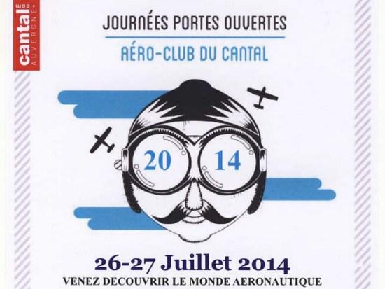 Portes Ouvertes à l'Aéroclub du Cantal à Aurillac