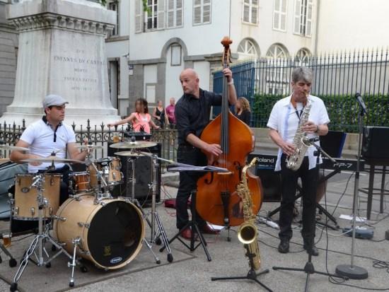 Fête de la musique à Aurillac 2015