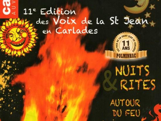 Voix de la Saint-Jean à Polminhac dans le Cantal 2015