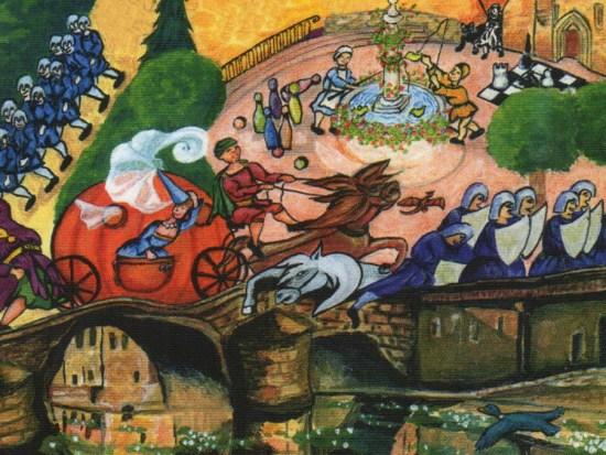 Fêté Médiévale de Laroquebrou 2015